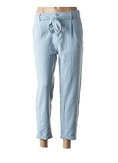 Pantalon casual bleu GARANCE pour femme