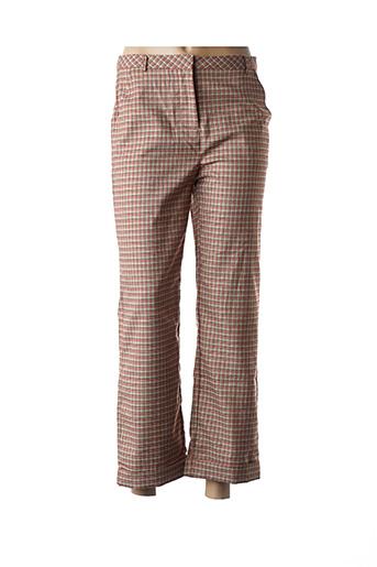 Pantalon casual marron FRNCH pour femme