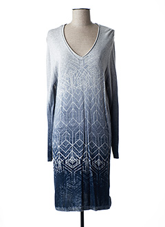 Robe pull gris GERRY WEBER pour femme