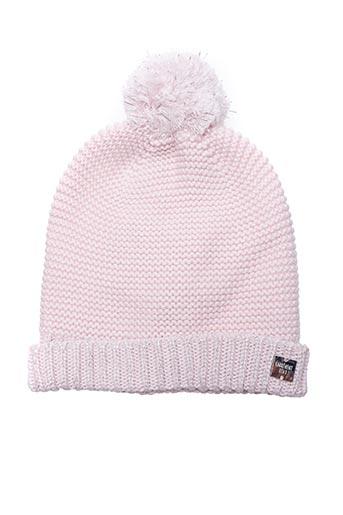 Bonnet rose CARREMENT BEAU pour fille