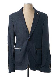 Veste chic / Blazer bleu SERGE BLANCO pour homme