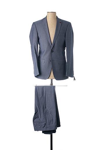 Costume de cérémonie bleu ROY ROBSON pour homme