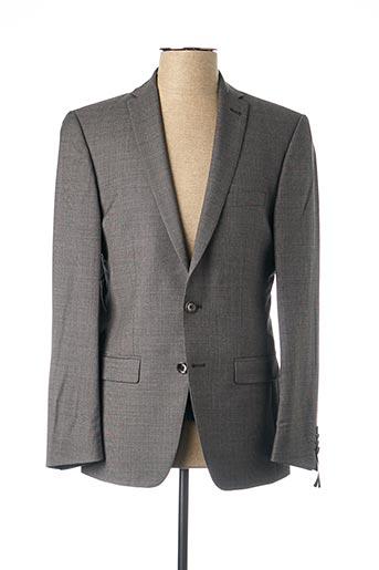Veste chic / Blazer gris ROY ROBSON pour homme