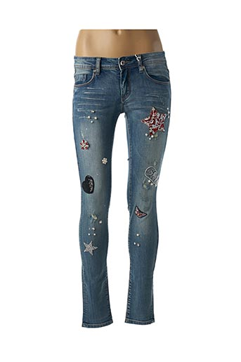 Jeans skinny bleu GAUDI pour femme