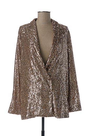 Veste chic / Blazer beige IMPERIAL pour femme