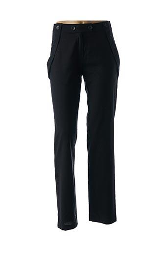 Pantalon chic noir ACOTÉ pour femme