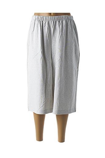 Pantalon casual gris AMERICAN VINTAGE pour femme