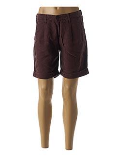 Produit-Shorts / Bermudas-Femme-DESGASTE