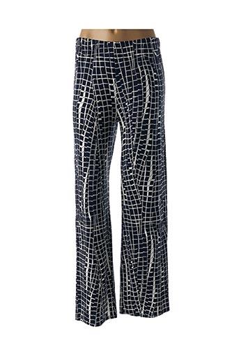Pantalon casual bleu MARBLE pour femme