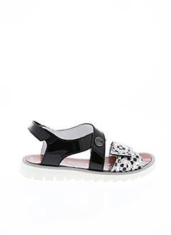 Sandales/Nu pieds noir ACHILE pour fille