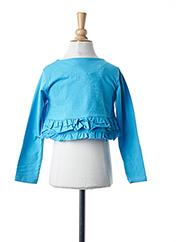 Boléro bleu BOBOLI pour fille seconde vue