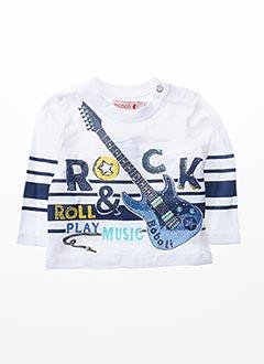 T-shirt manches longues blanc BOBOLI pour garçon