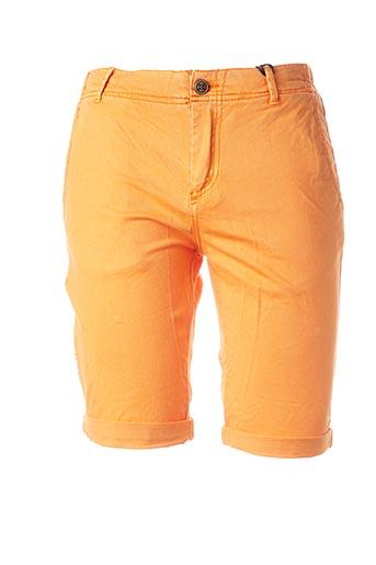 Bermuda orange GARCIA pour garçon