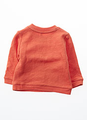 Sweat-shirt orange BOBOLI pour fille seconde vue