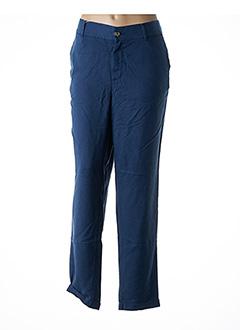 Pantalon casual bleu LCDN pour femme