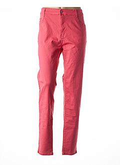 Pantalon casual rose BIG SPADE pour femme