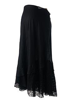 Jupe longue noir COLINE pour femme