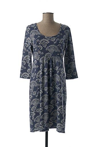 Robe pull bleu LILY & ME pour femme