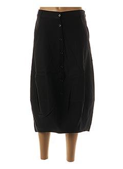 Jupe mi-longue noir KOKOMARINA pour femme