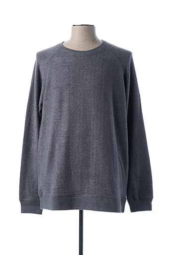 Pull col rond gris DSTREZZED pour homme
