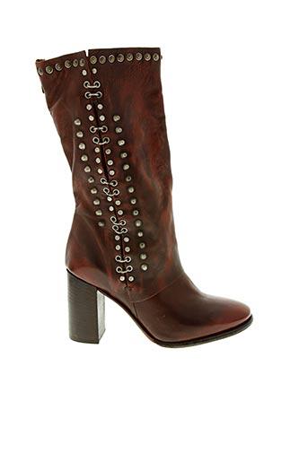 Bottines/Boots rouge A.S.98 pour femme
