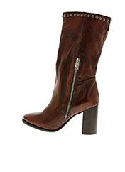 Bottines/Boots rouge A.S.98 pour femme seconde vue