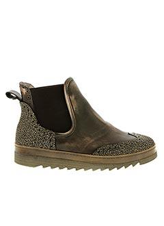 Bottines/Boots marron DKODE pour femme