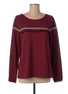 Sweat-shirt rouge KATMAI pour femme