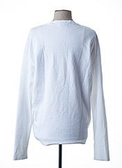 Pull col rond blanc SCOTCH & SODA pour homme seconde vue