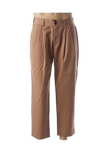 Pantalon chic marron SCOTCH & SODA pour homme
