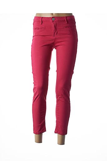 Pantalon casual rose DENIM STUDIO pour femme