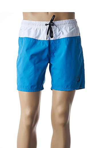 Short de bain bleu CODE ZERO pour homme