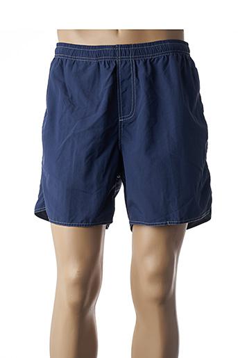 Short bleu ICU pour homme