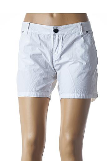 Short blanc CODE ZERO pour femme