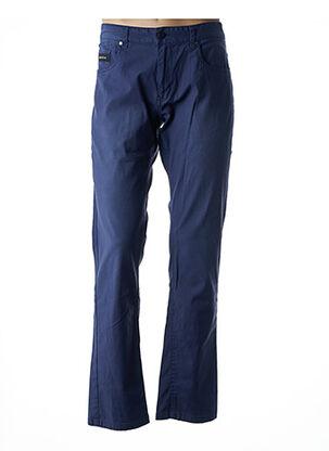Pantalon casual bleu CODE ZERO pour homme