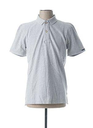 Polo manches courtes gris CODE ZERO pour homme