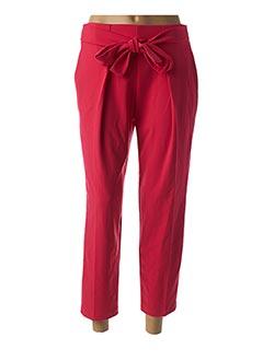 Pantalon casual rose RINASCIMENTO pour femme
