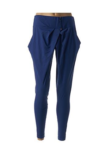 Pantalon casual bleu ADC PANACHER pour femme