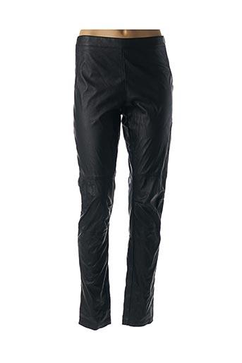 Pantalon casual noir HYBRIS pour femme