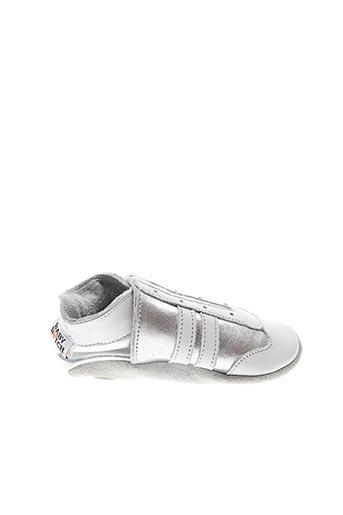 Chaussons/Pantoufles gris BABY-DUTCH pour enfant