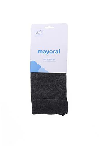 Collants gris MAYORAL pour fille