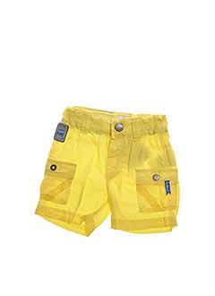 Bermuda jaune COUDEMAIL pour garçon