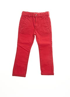Pantalon casual rouge BILLYBANDIT pour fille