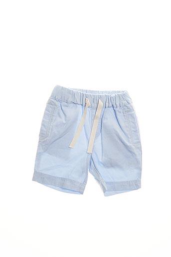 Bermuda bleu PETIT BATEAU pour garçon
