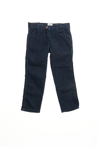 Jeans coupe slim bleu CARREMENT BEAU pour fille