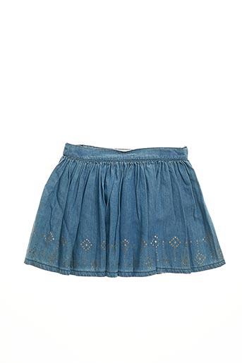 Jupe mi-longue bleu MAYORAL pour fille