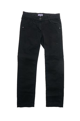 Pantalon casual noir COUDEMAIL pour fille