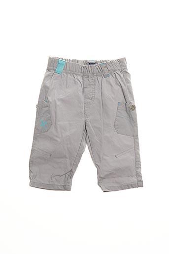 Pantalon casual gris ELLE EST OU LA MER pour garçon