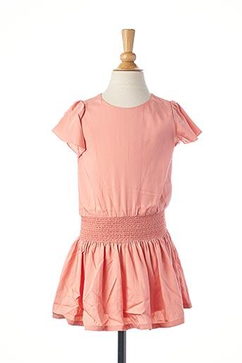 Robe mi-longue rose CARREMENT BEAU pour fille