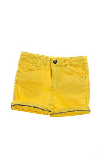 Short jaune BILLIE JEAN pour fille